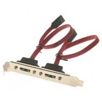Adaptador Doble eSATA/SATA PCI