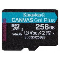 Kingston Technology Canvas Go! Plus memoria flash 256 GB MicroSD Clase 10 UHS-I