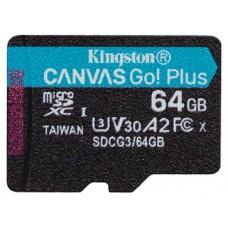 Kingston Technology Canvas Go! Plus memoria flash 64 GB MicroSD Clase 10 UHS-I
