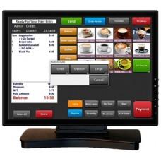 "VivaPos Monitor Táctil 17"" T1705 LCD USB Negro"