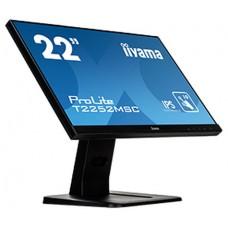 "iiyama ProLite T2252MSC-B1 monitor pantalla táctil 54,6 cm (21.5"") 1920 x 1080 Pixeles Multi-touch Negro"
