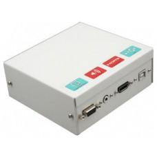 Caja conex. Pizarr.con conecHDMI+cables 5m