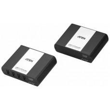 ATEN Extensor USB 2.0 por LAN de 4 puertos