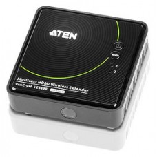 Aten VE849R extensor audio/video Receptor AV Negro