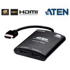 ATEN DISTRIBUIDOR HDMI TRUE 4K DE 2 PUERTOS (VS82H-AT)
