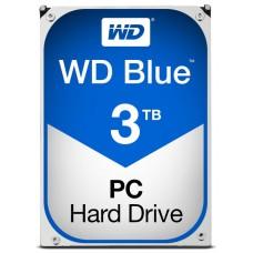 DISCO DURO 3TB WESTERN DIGITAL BLUE 64MB SATA6G