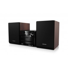 Sharp XL-B510 Microcadena de música para uso doméstico 14 W Negro, Marrón