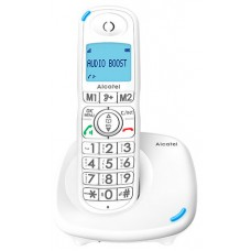 Alcatel XL575 Teléfono DECT/analógico Blanco Identificador de llamadas