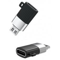 Adaptador NB149-C Tipo C a Micro USB XO