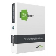 Licencia software control presencia zkteco capacidad
